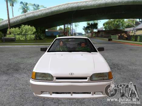 VAZ 2115 pour GTA San Andreas vue de dessus