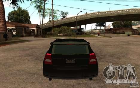 Dodge Caliber für GTA San Andreas zurück linke Ansicht