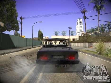 Tofas 124 Serçe für GTA San Andreas rechten Ansicht