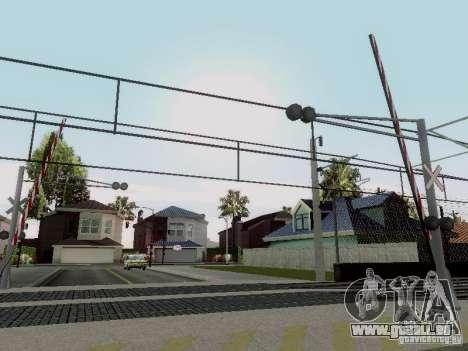 PASSAGE à niveau RUS V 2.0 pour GTA San Andreas quatrième écran