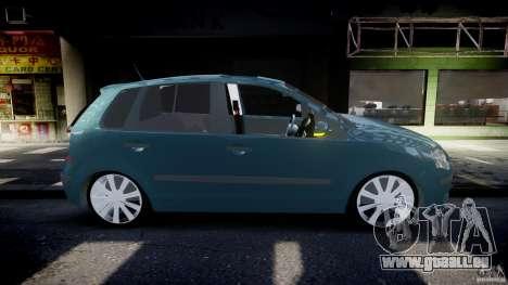 Volkswagen Polo 1998 pour GTA 4 est un côté