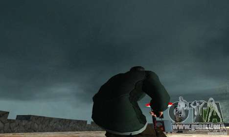 SAM FISHER pour GTA San Andreas troisième écran