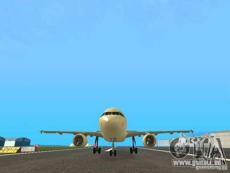 Airbus A319 Air Canada pour GTA San Andreas vue de côté