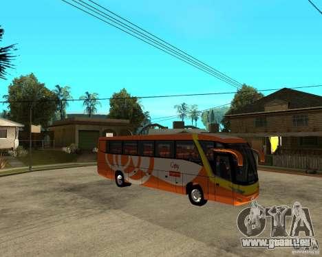 Stadt malaysischen Schnellbus für GTA San Andreas rechten Ansicht
