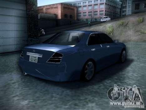 Nissan Gloria pour GTA San Andreas sur la vue arrière gauche