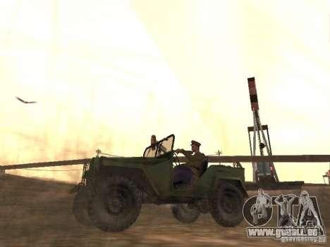 Officier soviétique BOB pour GTA San Andreas deuxième écran