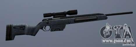 Steyr Scout pour GTA San Andreas quatrième écran