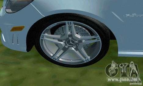 Mercedes-Benz E63 DPS für GTA San Andreas Unteransicht
