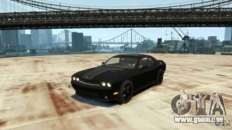 Dodge Challenger SRT8 pour GTA 4 est une gauche