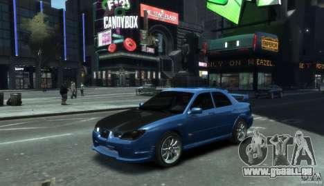 Subaru Impreza WRX STI 2006 pour GTA 4
