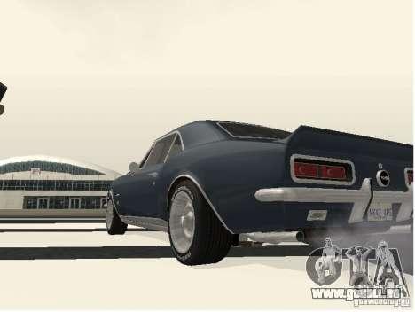Chevrolet Camaro SS 396 Turbo-Jet pour GTA San Andreas vue de droite