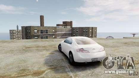 Infiniti G35 für GTA 4 hinten links Ansicht