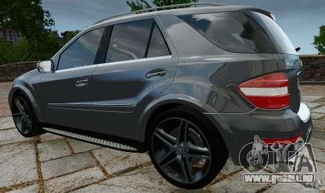 Mercedes-Benz ML63 AMG für GTA 4 hinten links Ansicht