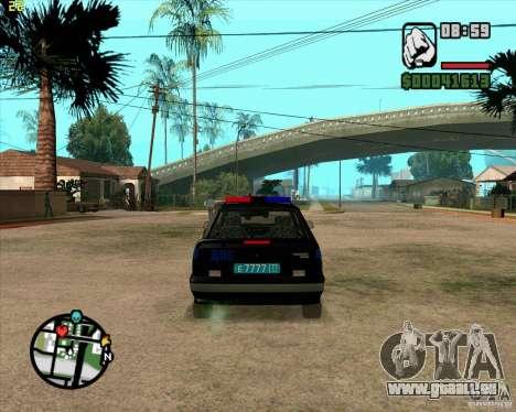 ВАЗ 2114 DPS-tuning für GTA San Andreas rechten Ansicht