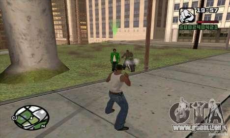 Gun Seller pour GTA San Andreas deuxième écran