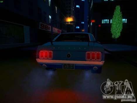 Ford Mustang Boss 429 1970 pour GTA San Andreas vue de côté