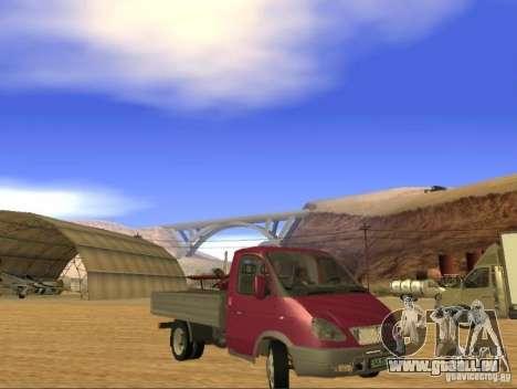 3302 gazelle für GTA San Andreas linke Ansicht