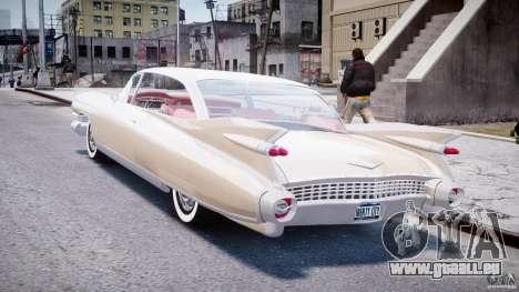 Cadillac Eldorado 1959 (Lowered) pour GTA 4 Vue arrière de la gauche