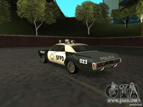 Dodge Polara Police 1971 für GTA San Andreas linke Ansicht
