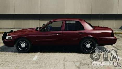 Ford Crown Victoria Police Unit [ELS] pour GTA 4 est une gauche
