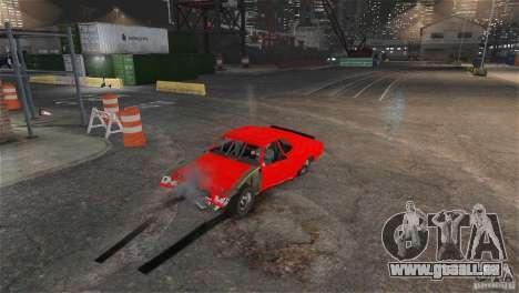 Jupiter Eagleray MK5 v.1 pour GTA 4 Vue arrière