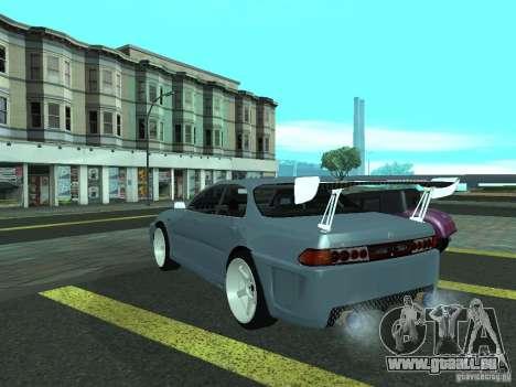 Toyota Carina ED  DRFT pour GTA San Andreas laissé vue