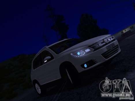 Volkswagen Tiguan 2.0 TDI 2012 pour GTA San Andreas vue de dessous