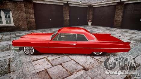 Cadillac De Ville v2 pour GTA 4 est une gauche