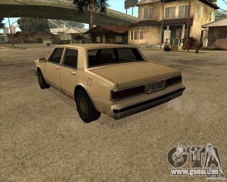 New Greenwood für GTA San Andreas linke Ansicht