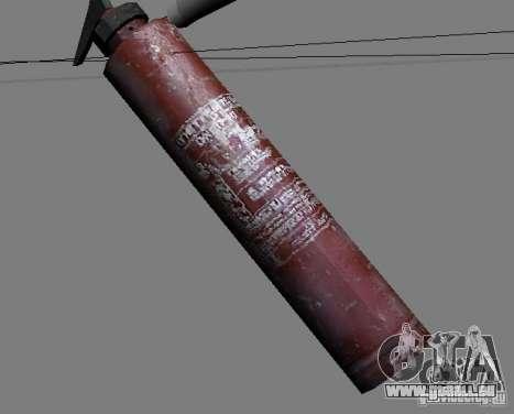 Eine Reihe von Waffen aus Stalker V3 für GTA San Andreas neunten Screenshot