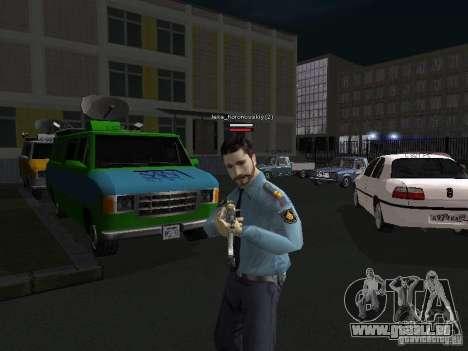 Peaux de milice pour GTA San Andreas quatrième écran