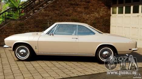 Chevrolet Corvair Monza 1969 für GTA 4 linke Ansicht