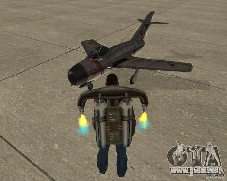 MIG 15 URSS pour GTA San Andreas