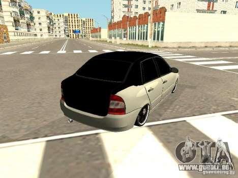 Lada Kalina pour GTA San Andreas laissé vue