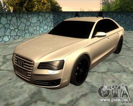 Audi A8 2010 v2.0 für GTA San Andreas