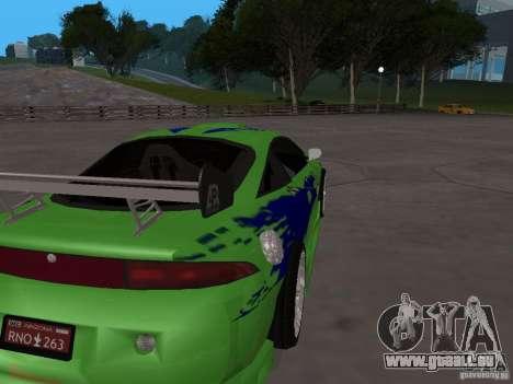Mitsubishi Eclipse Tunable für GTA San Andreas rechten Ansicht