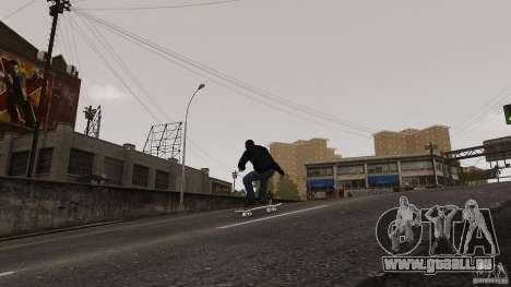 Skateboard # 4 für GTA 4 rechte Ansicht