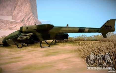 Type 4 Doragon pour GTA San Andreas vue de droite