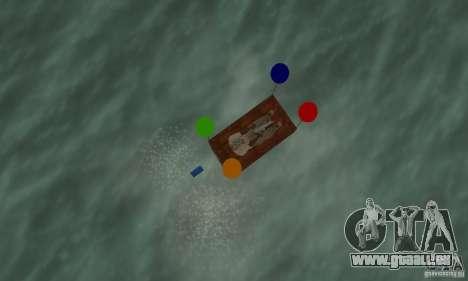 Ballooncraft pour GTA San Andreas vue de droite
