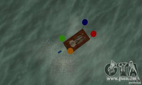 Ballooncraft für GTA San Andreas rechten Ansicht