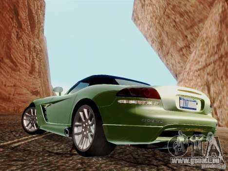 Dodge Viper SRT-10 Roadster für GTA San Andreas linke Ansicht