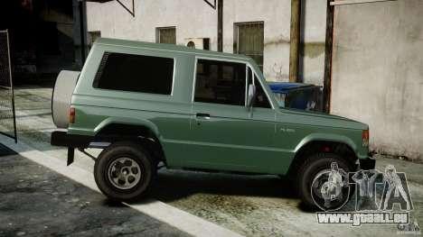 Mitsubishi Pajero I [Final] für GTA 4 linke Ansicht