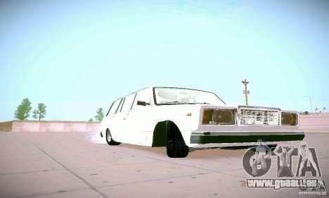 VAZ 2104 für GTA San Andreas Rückansicht