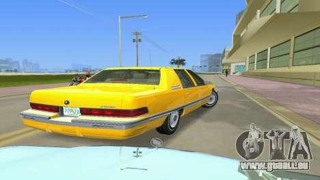 Buick Roadmaster 1994 pour GTA Vice City sur la vue arrière gauche