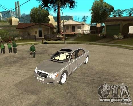 Maybach 62 pour GTA San Andreas