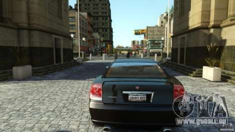 Civilian Buffalo v2 für GTA 4 Rückansicht