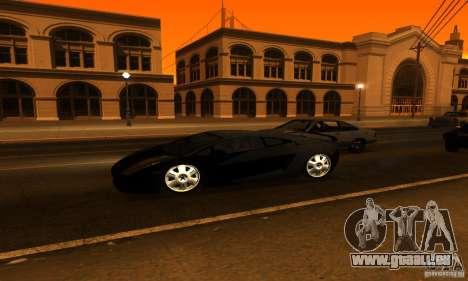 Lamborghini Gallardo für GTA San Andreas Innen