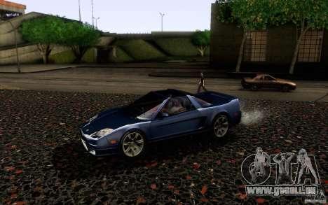 Acura NSX Targa pour GTA San Andreas