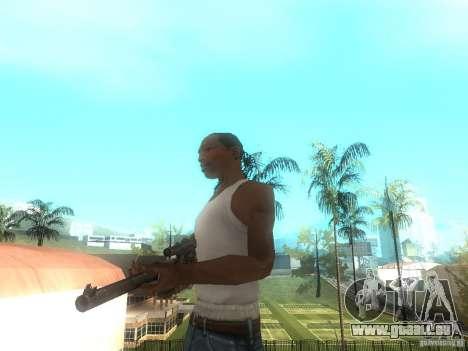 Fusil VSS Vintorez pour GTA San Andreas deuxième écran