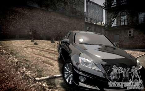Lexus IS-F pour GTA 4